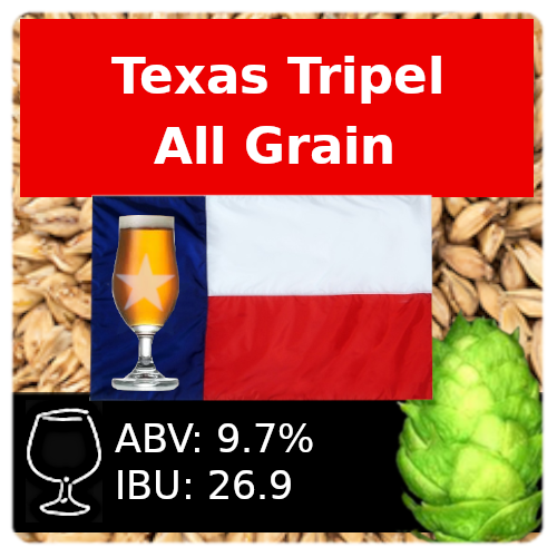 SoCo Texas Tripel All Grain Recipe Kit