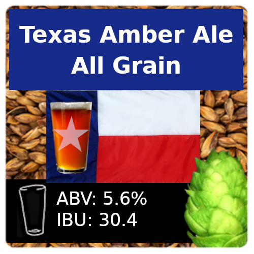 SoCo Texas Amber Ale All Grain Recipe Kit
