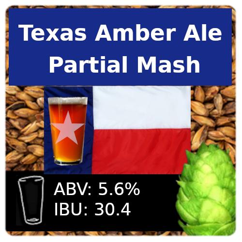SoCo Texas Amber Ale Partial Mash Recipe Kit