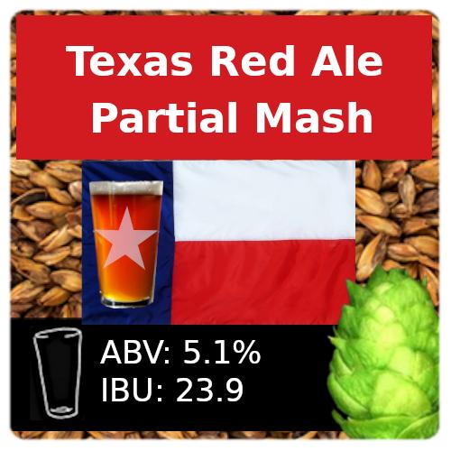 SoCo Texas Red Ale Partial Mash Recipe Kit