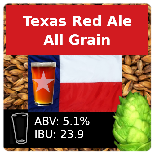SoCo Texas Red Ale All Grain Recipe Kit
