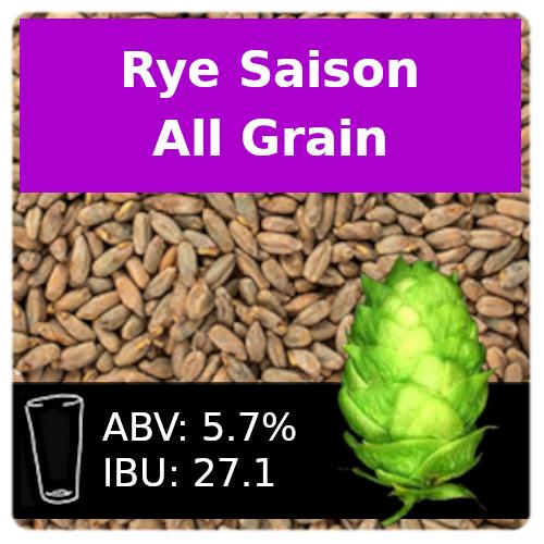 SoCo - Rye Saison - All Grain