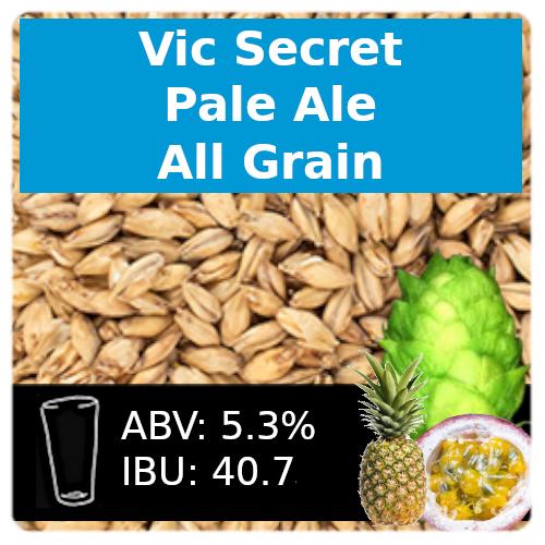 SoCo Vic Secret Pale Ale - All Grain