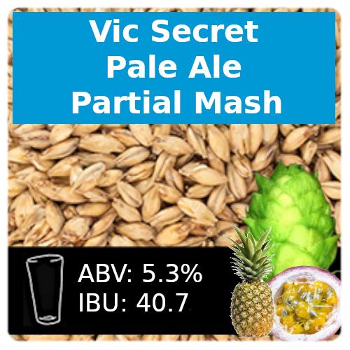 SoCo Vic Secret Pale Ale Partial Mash Recipe Kit