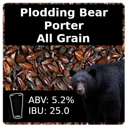 Plodding Bear Porter All Grain Recipe Kit