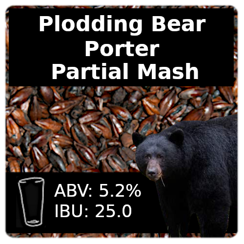 Plodding Bear Porter Partial Mash Recipe Kit