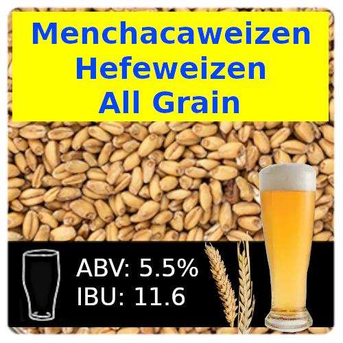 Menchacaweizen Hefeweizen All Grain Recipe Kit