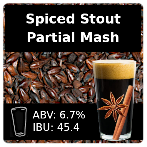 SoCo Spiced Stout Partial Mash Recipe Kit