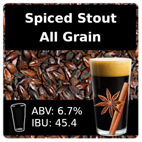 SoCo Spiced Stout All Grain Recipe Kit