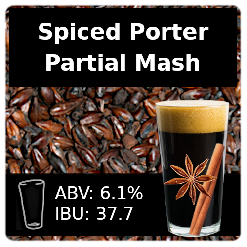 SoCo Spiced Porter Partial Mash Recipe Kit