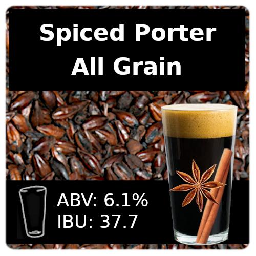 SoCo Spiced Porter All Grain Recipe Kit