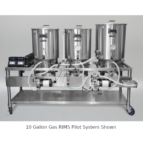 Blichmann 15 Gallon Gas RIMS Pilot System