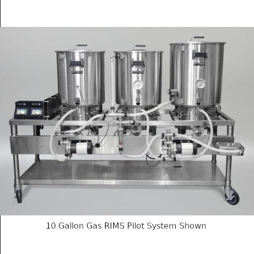 Blichmann 5 Gallon Gas RIMS Pilot System