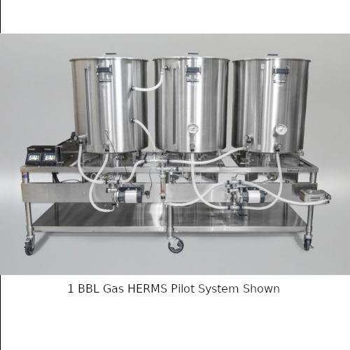 Blichmann 1 BBL Gas HERMS Pilot System