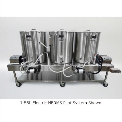 Blichmann 1 BBL Electric HERMS Pilot System