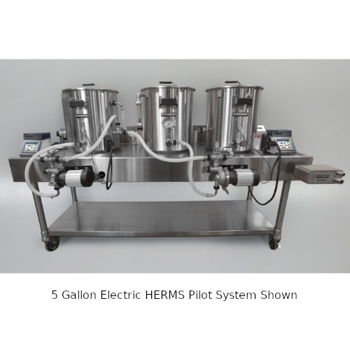 Blichmann 20 Gallon Electric HERMS Pilot System