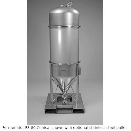 Blichmann 80 Gallon Fermenator Conical With Tri-Clamp Fittings