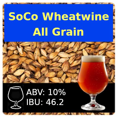 SoCo Wheatwine Ale All Grain Recipe Kit