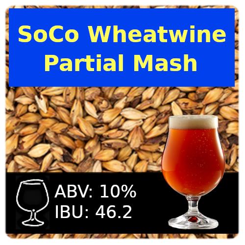 SoCo Wheatwine Ale Partial Mash Recipe Kit
