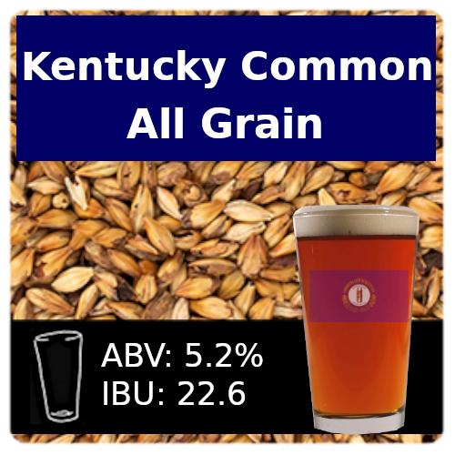 SoCo Kentucky Common All Grain Recipe Kit