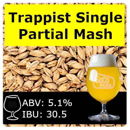 SoCo Trappist Single - Partial Mash
