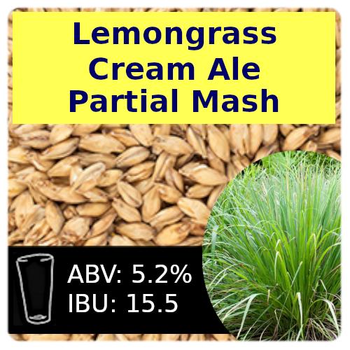 SoCo Lemongrass Cream Ale Partial Mash Recipe Kit