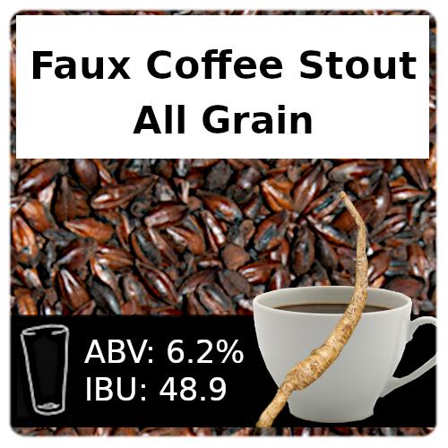 SoCo Faux Coffee Stout All Grain Recipe Kit