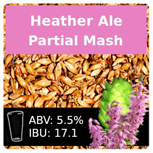 SoCo Heather Ale Partial Mash Recipe Kit