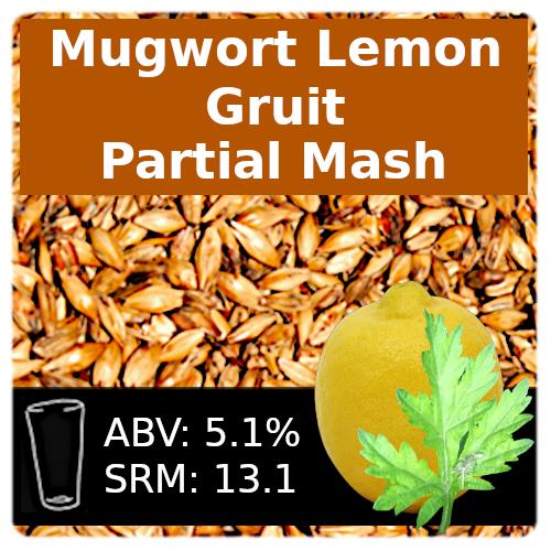 SoCo Mugwort Lemon Gruit Partial Mash Recipe Kit