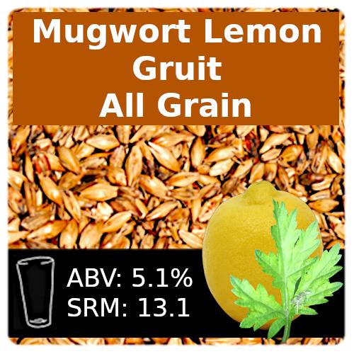 SoCo Mugwort Lemon Gruit All Grain Recipe Kit