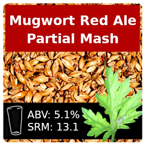 SoCo Mugwort Red Ale Partial Mash Recipe Kit