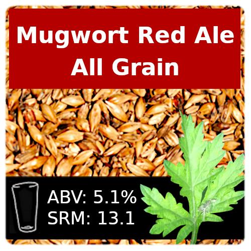 SoCo Mugwort Red Ale All Grain Recipe Kit