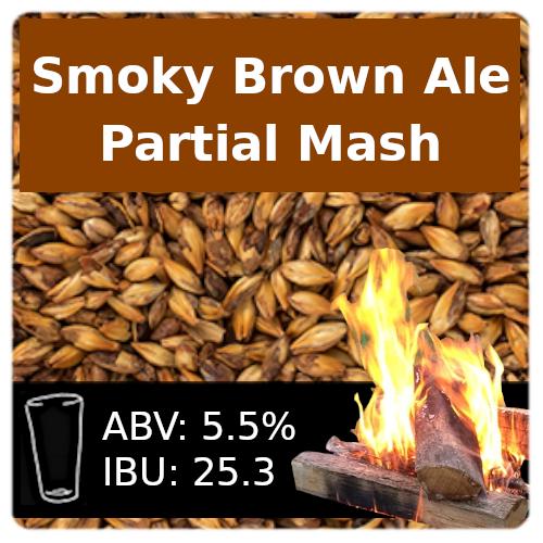 SoCo Smoky Brown Ale Partial Mash Recipe Kit