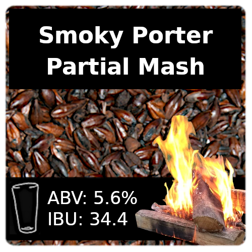 SoCo Smoky Porter Partial Mash Recipe Kit