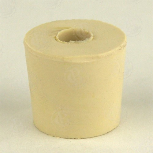 Rubber Stopper - 5 Drilled