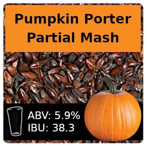 SoCo Pumpkin Porter Partial Mash Recipe Kit
