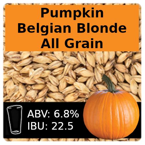 SoCo Pumpkin Belgian Blonde Ale All Grain Recipe Kit
