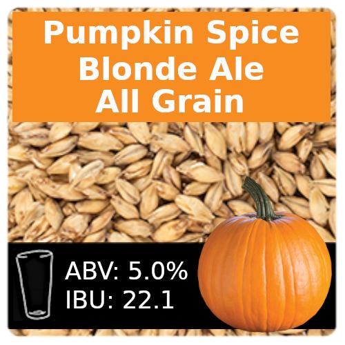 SoCo Pumpkin Spice Blonde Ale All Grain Recipe Kit