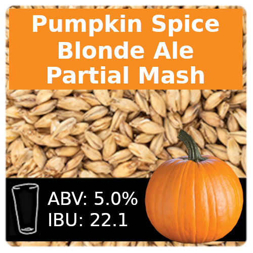 SoCo Pumpkin Spice Blonde Ale Partial Mash Recipe Kit