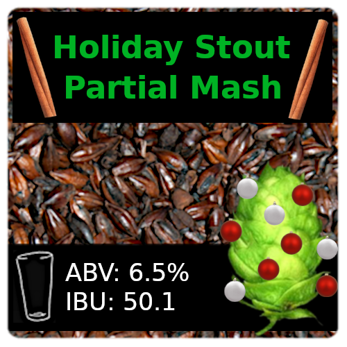 SoCo Holiday Stout Partial Mash Recipe Kit