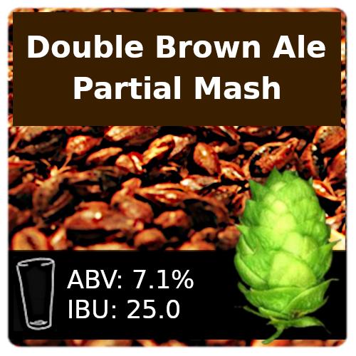 SoCo Double Brown Ale Partial Mash Recipe Kit