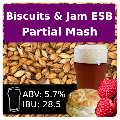 Biscuits and Jam ESB - Partial Mash