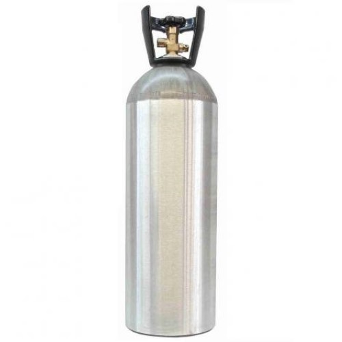 CO2 Cylinder - 20 LB (With Siphon Tube)