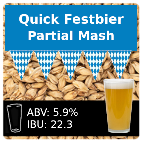 SoCo Quick Festbier Partial Mash Recipe Kit