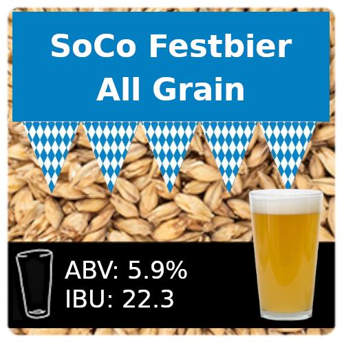 SoCo Festbier All Grain Recipe Kit