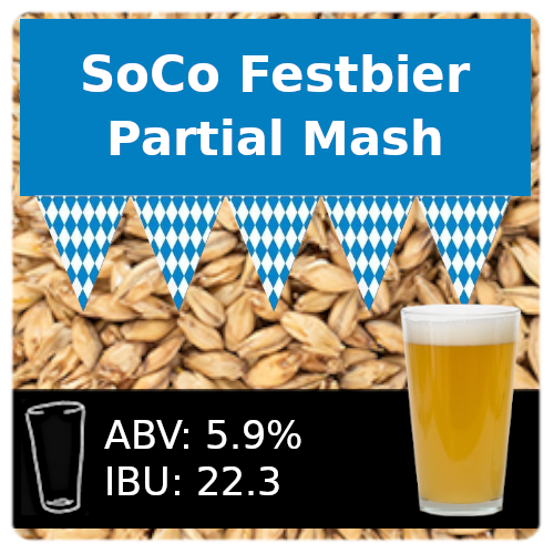 SoCo Festbier Partial Mash Recipe Kit