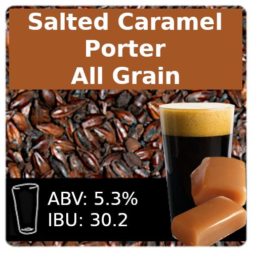 SoCo Salted Caramel Porter All Grain Recipe Kit