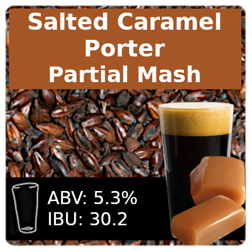 SoCo Salted Caramel Porter Partial Mash Recipe Kit