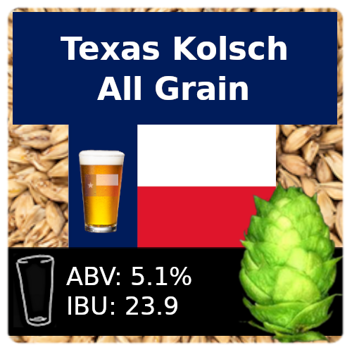 SoCo Texas Kolsch Partial Mash Recipe Kit
