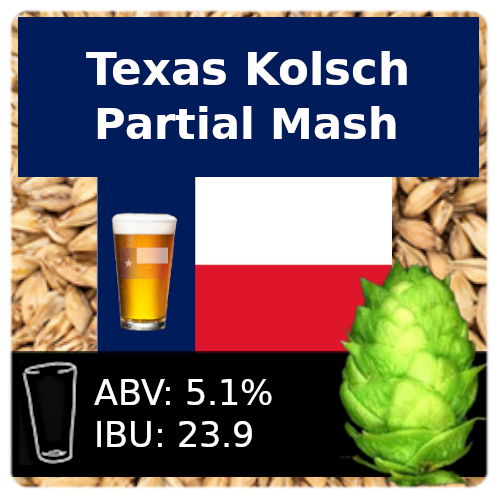 SoCo Texas Kolsch Partial Mash Recipe Kit